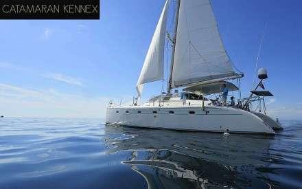 Catamaran Kenexx Daily Charter Mykonos
