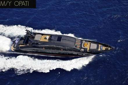 O'Pati Motor Yacht Charters Mykonos