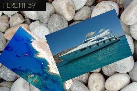 Feretti 59 Motor Yacht Charters Mykonos