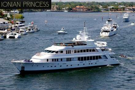 Ionian Princess Mega Yacht Charters Mykonos