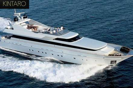 Kintaro Motor Yacht Charters Mykonos