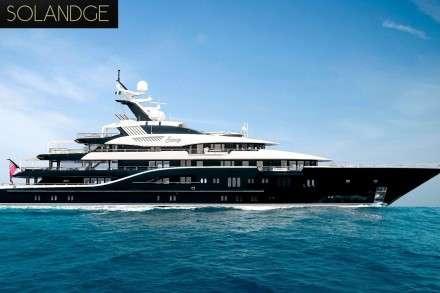 Solandge Mega Yacht Charters Mykonos