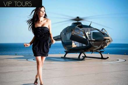 mykonos helicopter tours charters