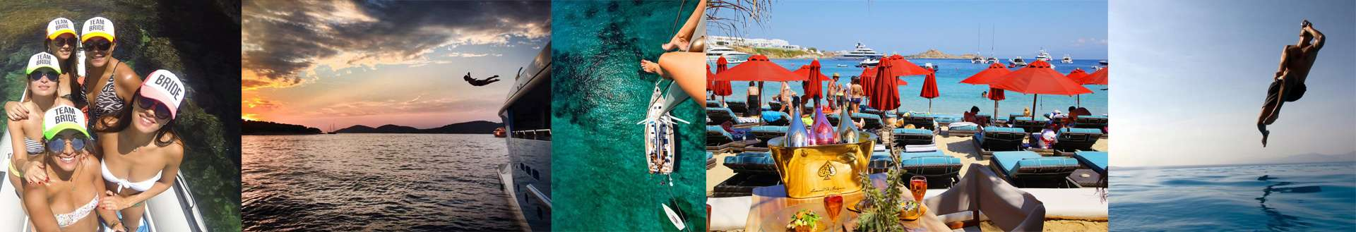 Bachelor and hen Parties in Mykonos