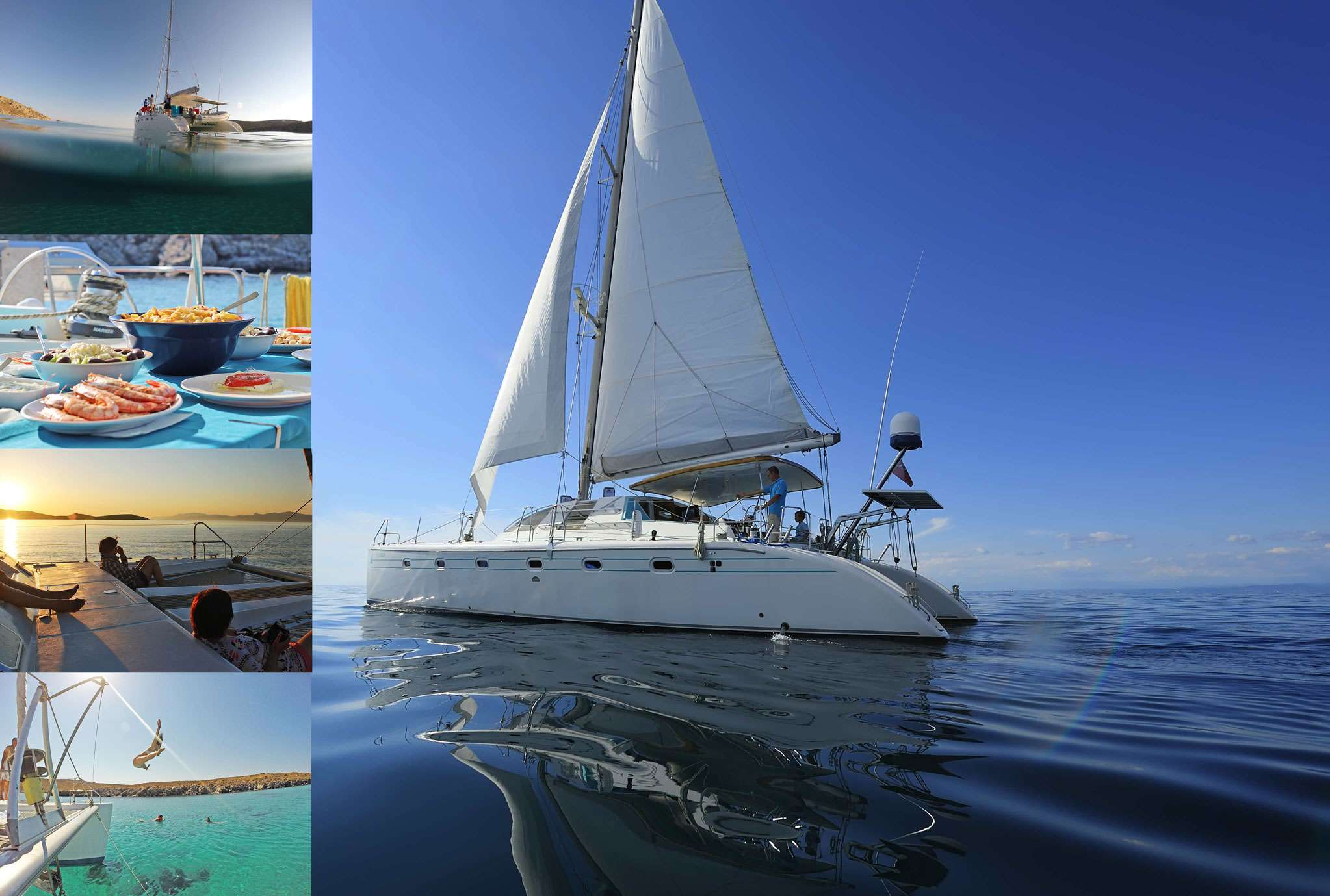 Catamaran Daily Charter Mykonos