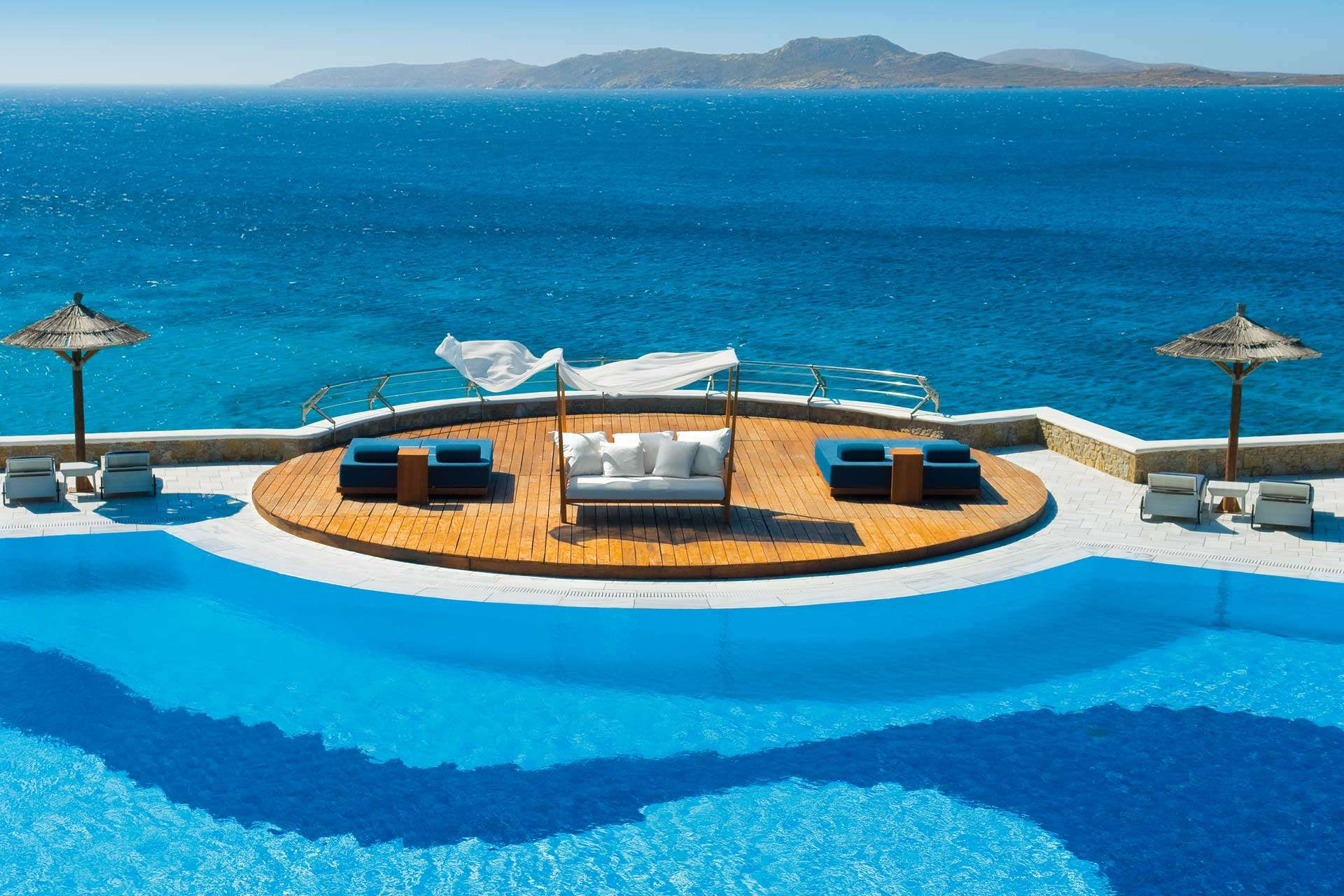 Mykonos Grand Beach Resort Pool
