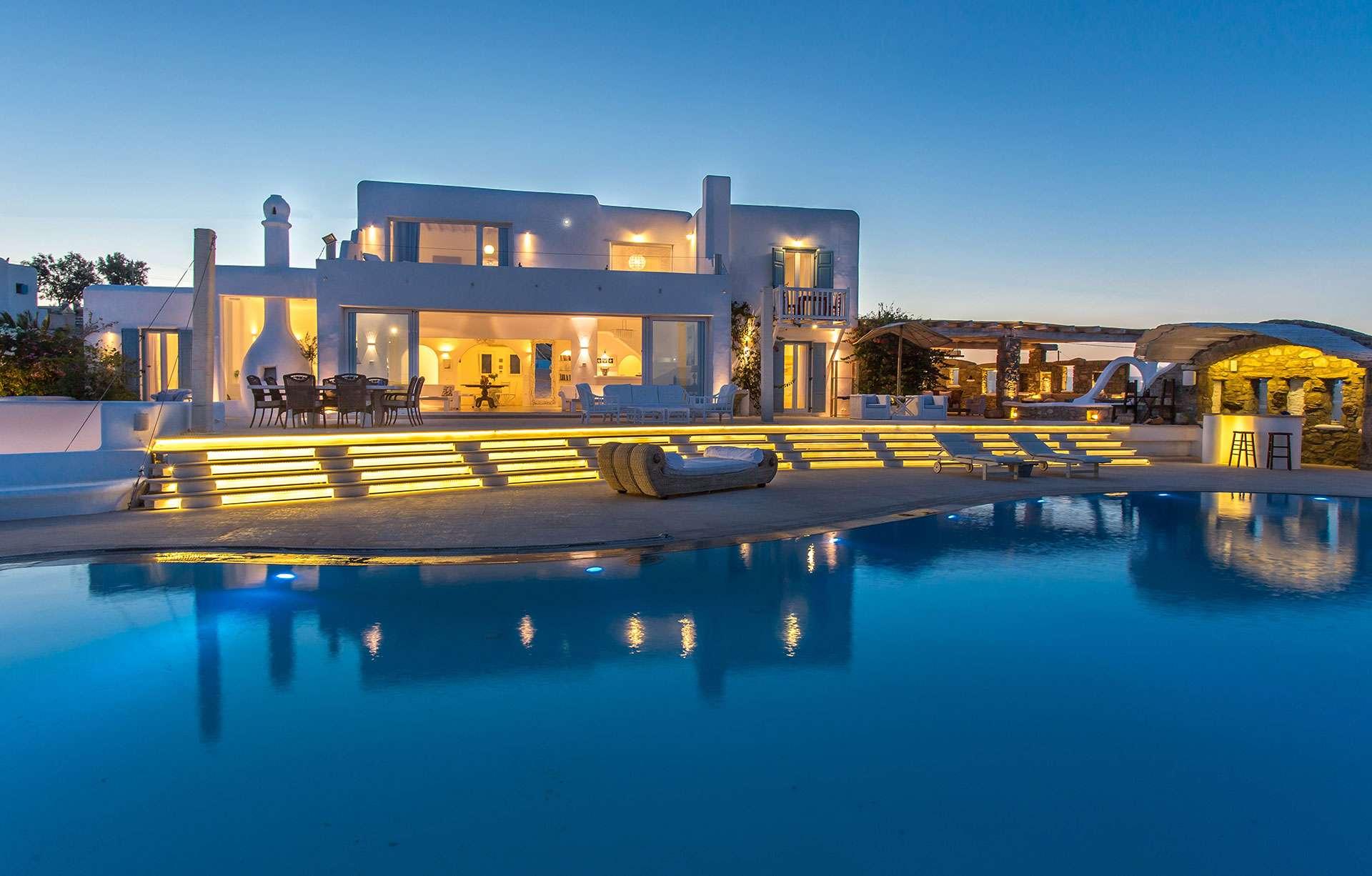 villa alegria mykonos villa rentals