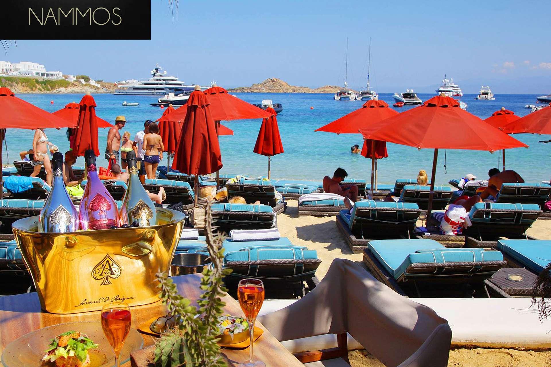 Nammos Mykonos Restaurants