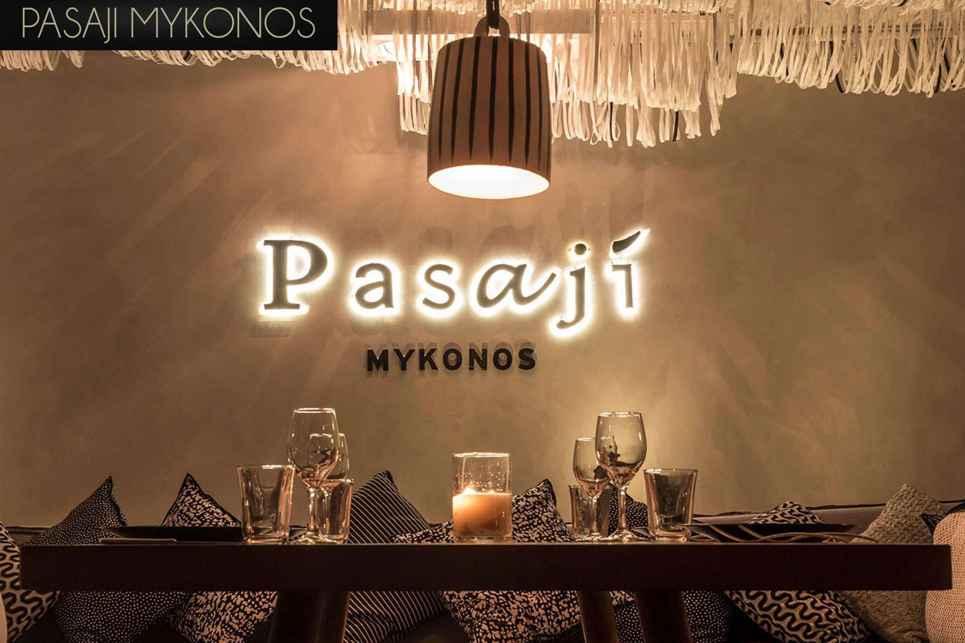 Pasaji Mykonos Restaurant