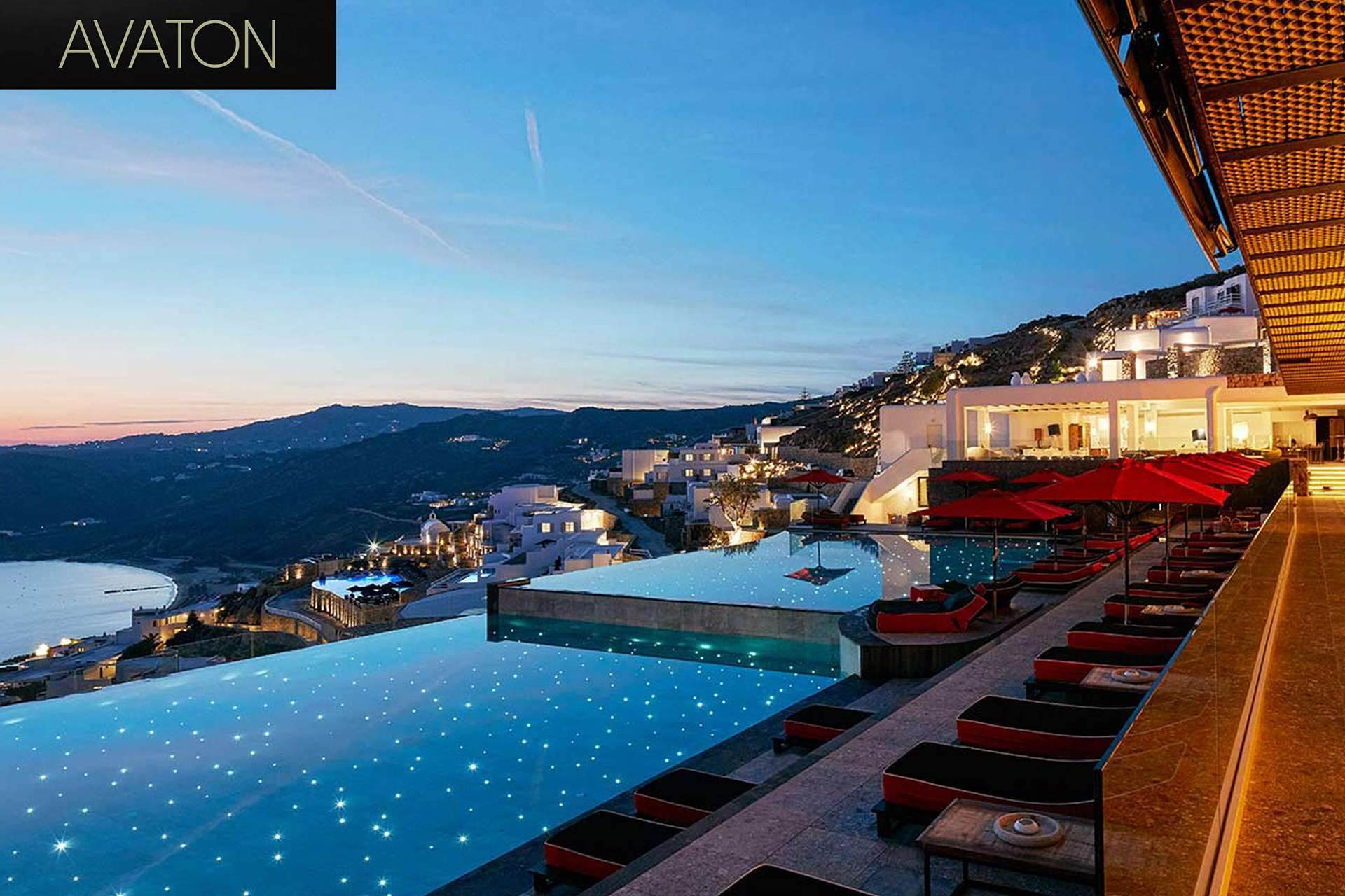Avaton boutique design resort mykonos exclusive for Top design hotels mykonos