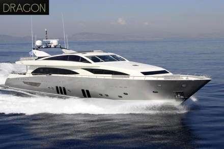 Dragon Motor Yacht Charters Mykonos