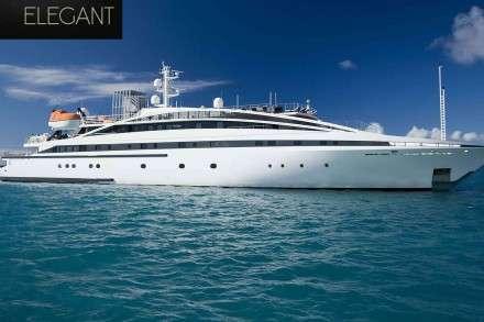 Elegant Mega Yacht Charters Mykonos