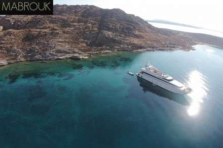 Mabrouk Motor Yacht Charters Mykonos
