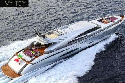 My Toy Motor Yacht Charters Mykonos