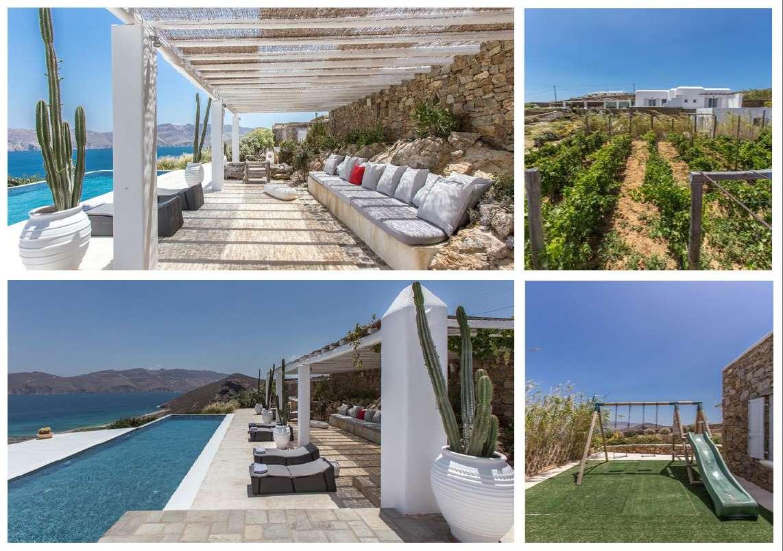 Mykonos villa rentals acqua di mare
