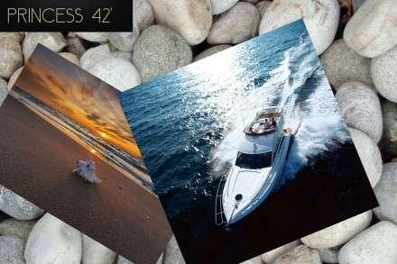 Princess 42' Motor Yacht Charters Mykonos