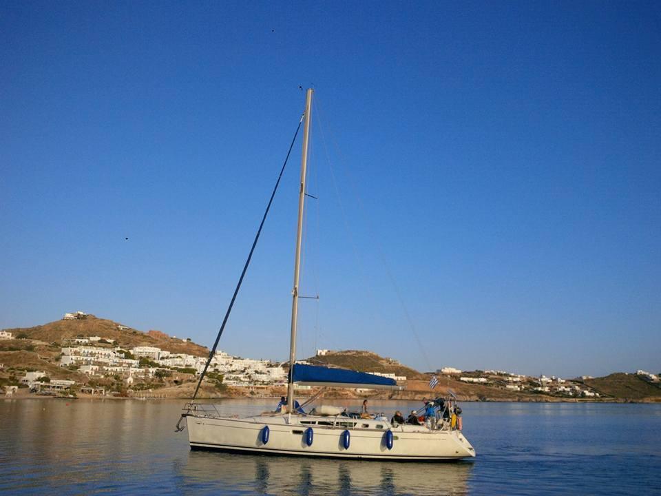 Sun Odyssey 49' Sailing Boat Charters Mykonos