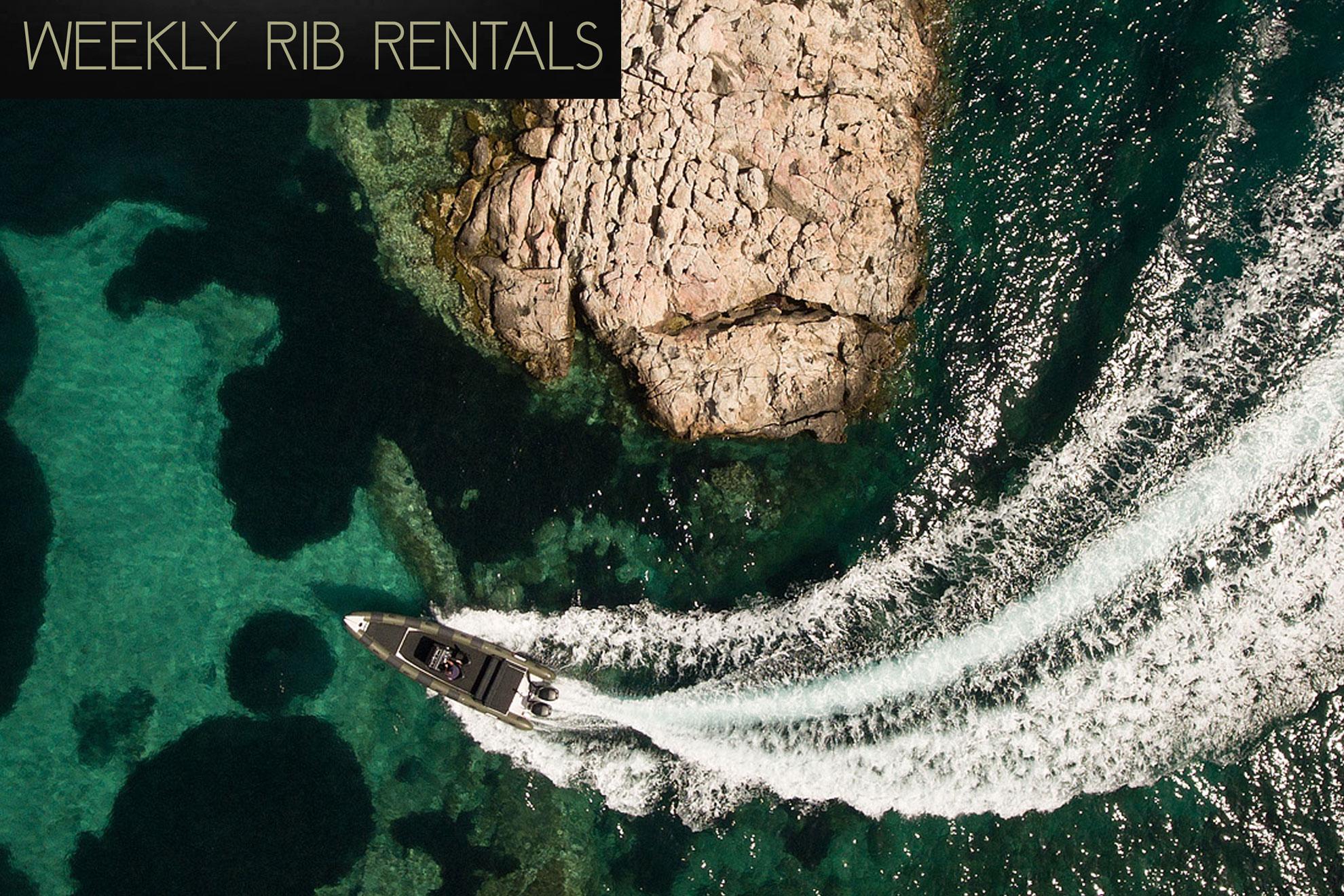 Mykonos speed boat rentals