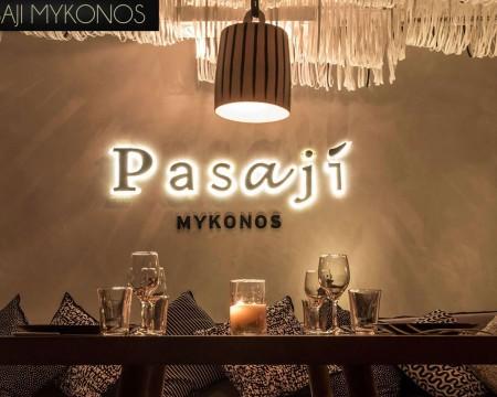 PASAJI  | MYKONOS HIP RESTAURANTS