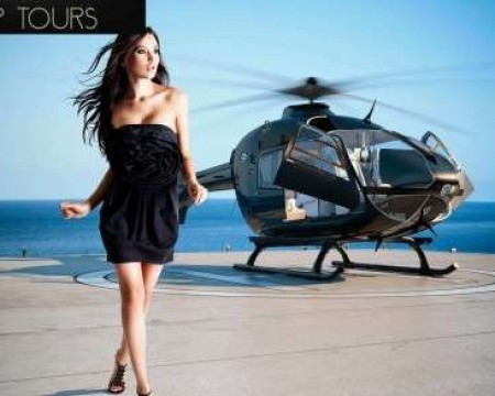 HELICOPTER CHARTERS & ISLAND TOURS