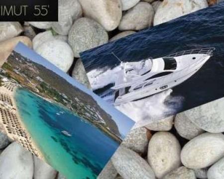 AZIMUT 55′ | MYKONOS MOTOR YACHTS CHARTERS