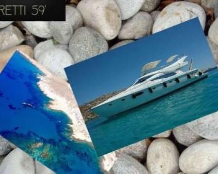 FERETTI 59′ | MYKONOS MOTOR YACHTS CHARTERS