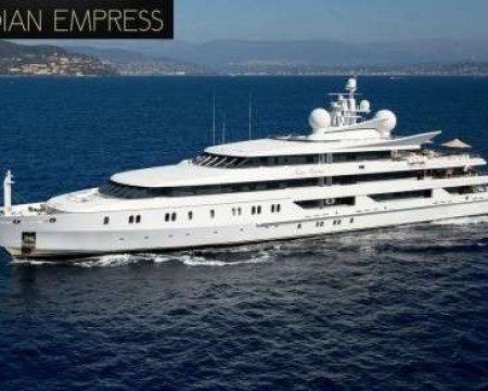 INDIAN EMPRESS | MEGA YACHT CHARTERS