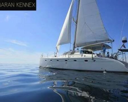 KENNEX PRO 445 | MYKONOS CATAMARAN YACHTS