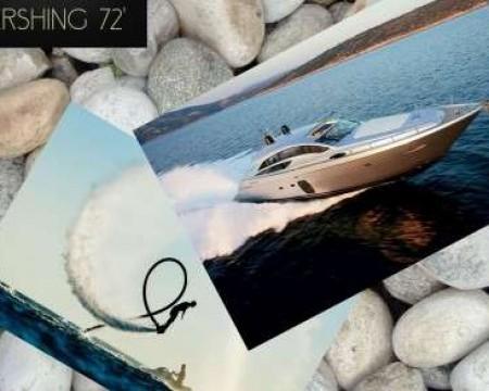 PERSHING 72' | MYKONOS MOTOR YACHTS CHARTERS