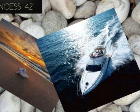 PRINCESS 42′ | MYKONOS MOTOR YACHT CHARTERS