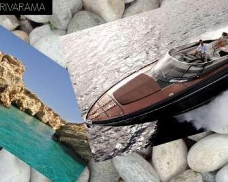 RIVA RIVARAMA 44' | MYKONOS MOTOR YACHT CHARTERS